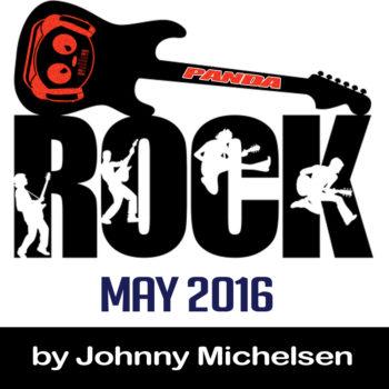 Panda Rock logo johnny may